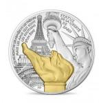 França 10€ Estátua da Liberdade 2017