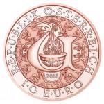 Áustria 10€ Arcanjo Uriel 2018