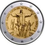 Vaticano 2€ 2013 - Jornadas da Juventude Rio de Janeiro