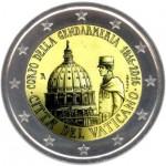 Vaticano 2€ Corpo da Gendarmaria do Vaticano 2016
