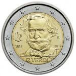 Itália 2€ Verdi 2013