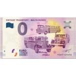 Nota 0€ Vintage Transport - Malta Buses 2019 -1