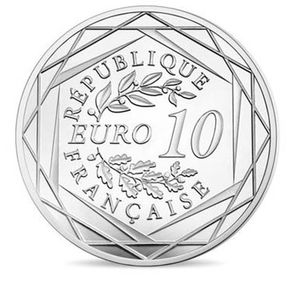 França 10€ Auguste Rodin 2017