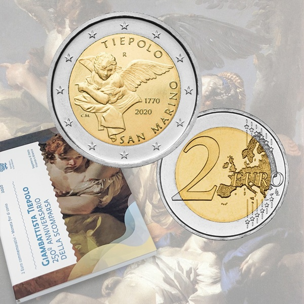 São Marino 2€ Tiepolo 2020