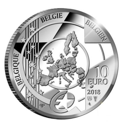 Bélgica 10€ Rubens - Baroco & Rococo 2018