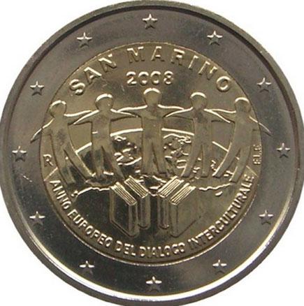São Marino 2€ 2008 - Diálogo