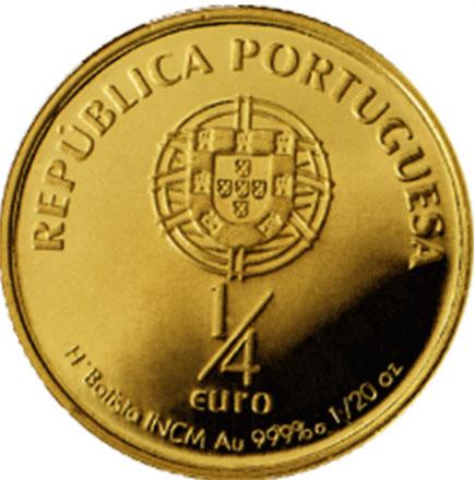 Portugal 1/4€ 2007 - Santo António de Lisboa