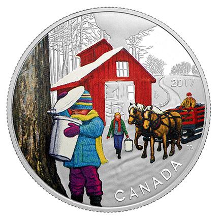 Canadá $10 Barraca de Açúcar 2017