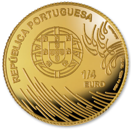 Portugal 1/4€ 2009 - Vasco da Gama
