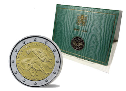Vaticano 2€ 2010 - Ano Sacerdotal